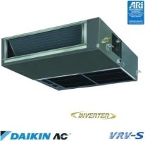 Daikin FXSQ24MVJU - Concealed Ceiling Fancoil Heat Pump Indoor Unit - 24000 BTU