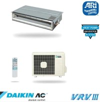 Daikin FDXS12DVJU RXS12DVJU Slim Duct Built-In Ceiling Single Zone Heat Pump 13 SEER - 11500 BTU