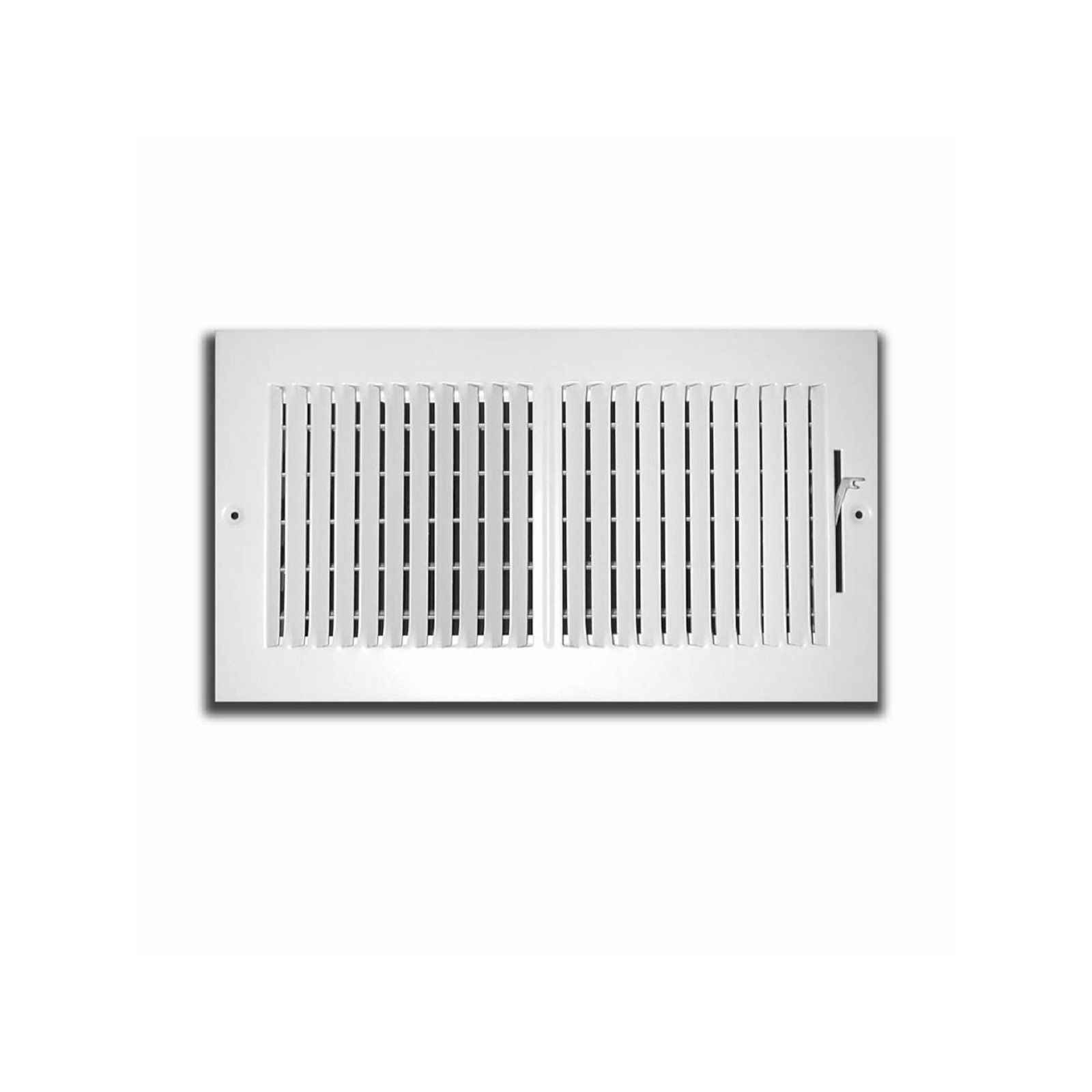 "TRUaire 102M 14X10 - Stamped Steel 2-Way Wall/Ceiling Register, 14"" X 10"""