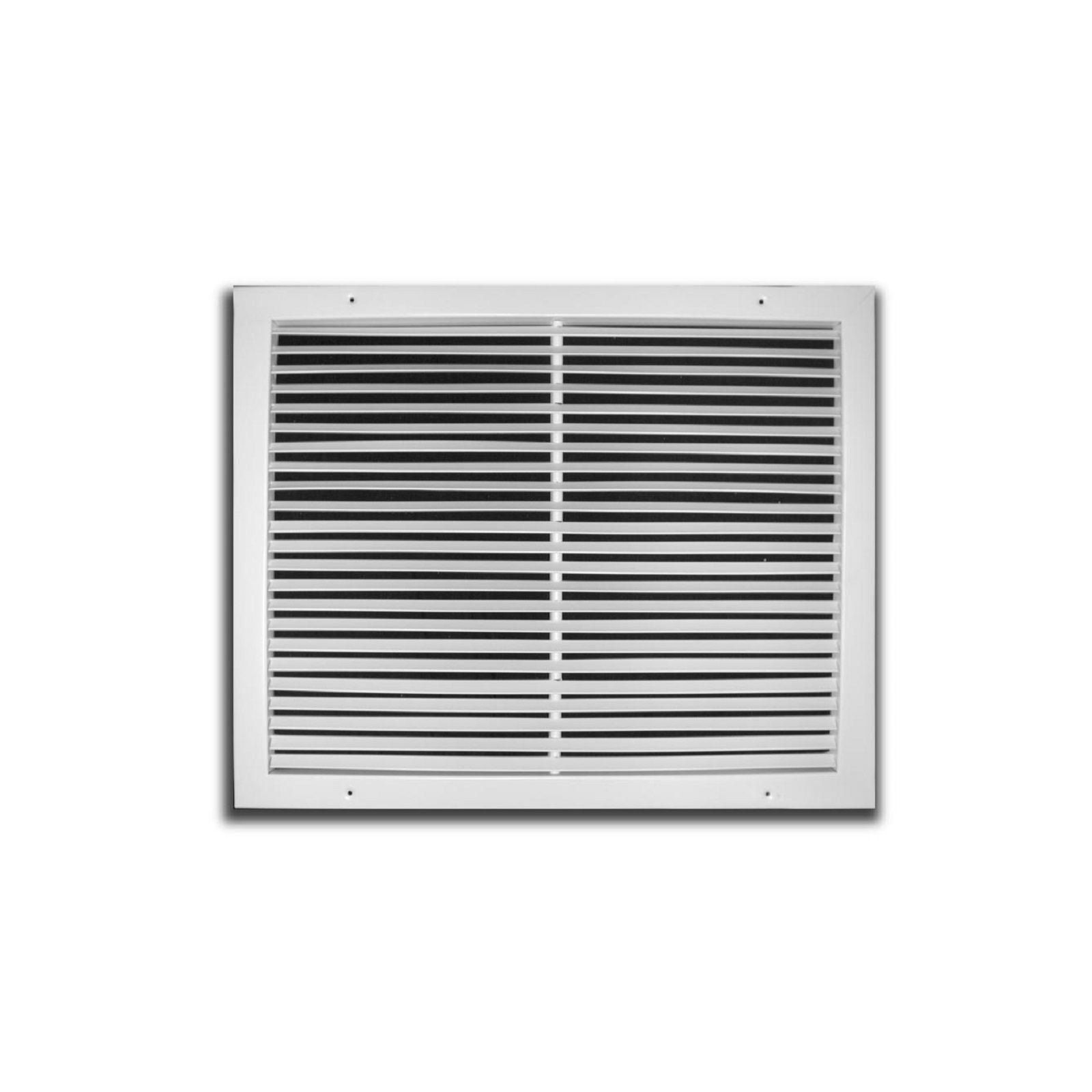"TRUaire 270 14X08 - Steel Fixed Bar Return Air Grille, White, 14"" X 08"""