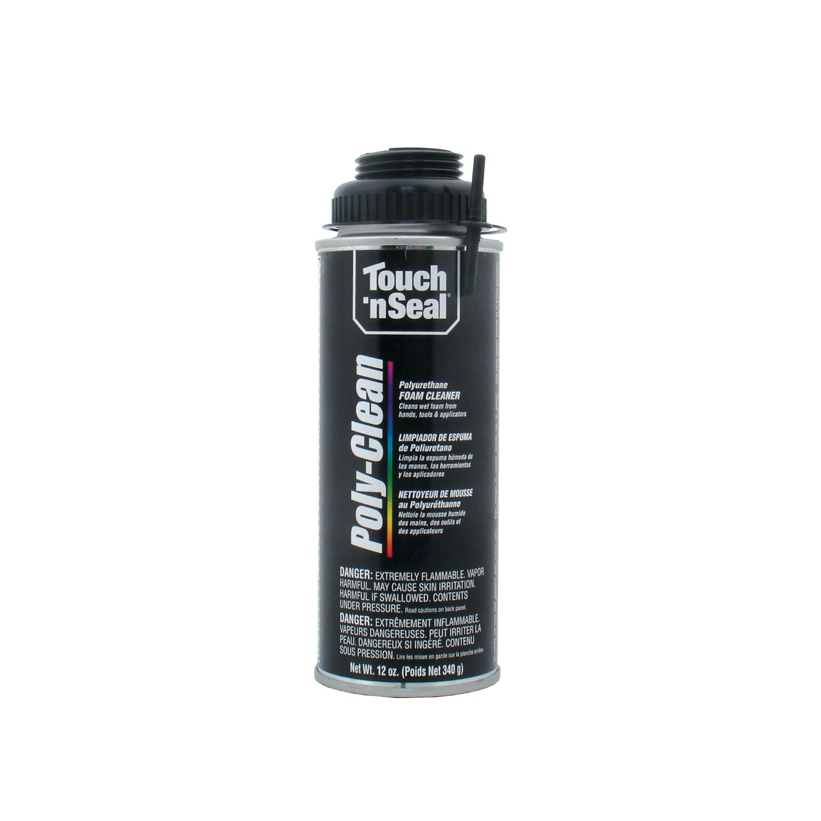 BWI Products 4004712022 - Touch 'n Seal Poly-Clean Polyurethane Foam Cleaner (12 oz. can)