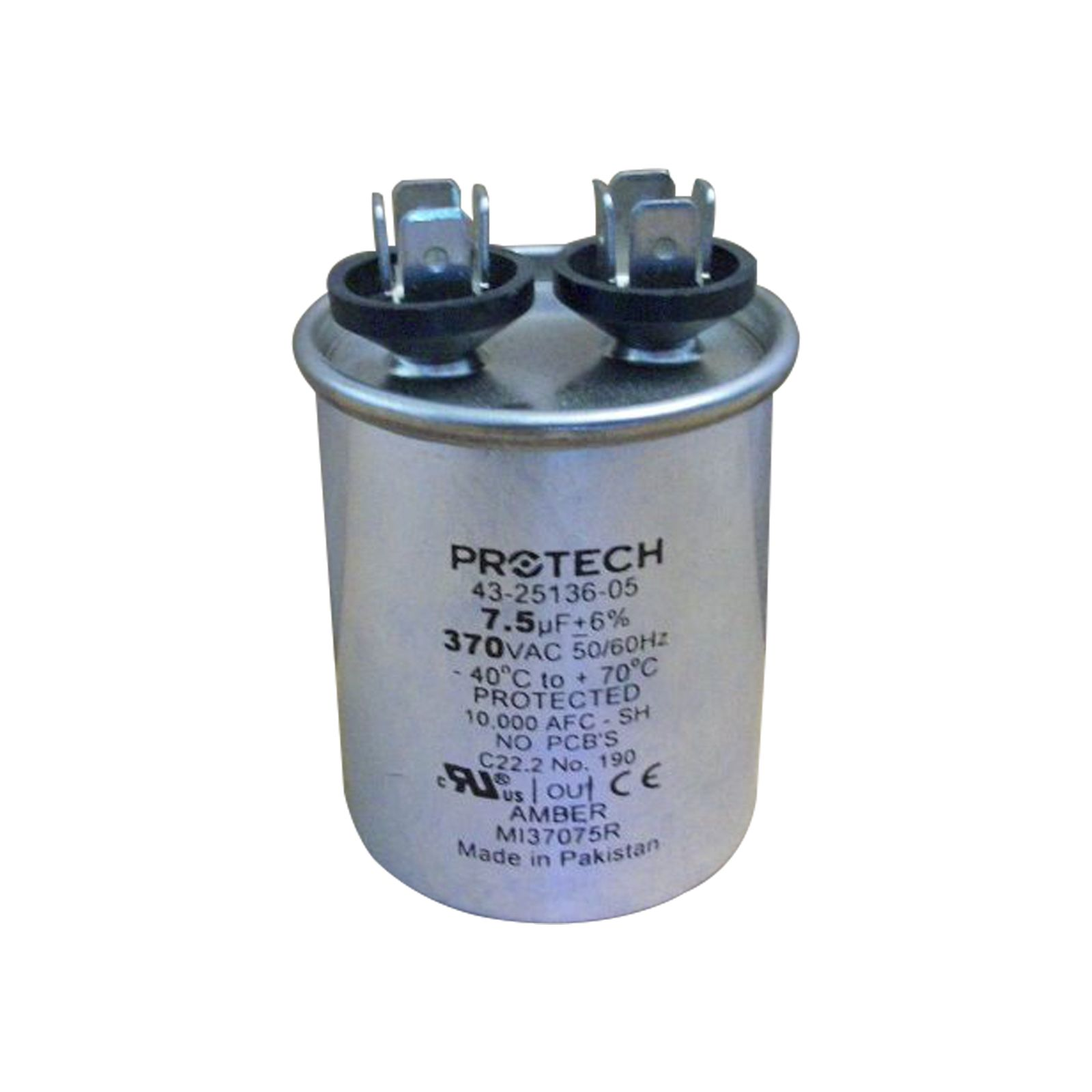 PROTECH 43-25136-05 - Capacitor - 7.5/370 Single Round