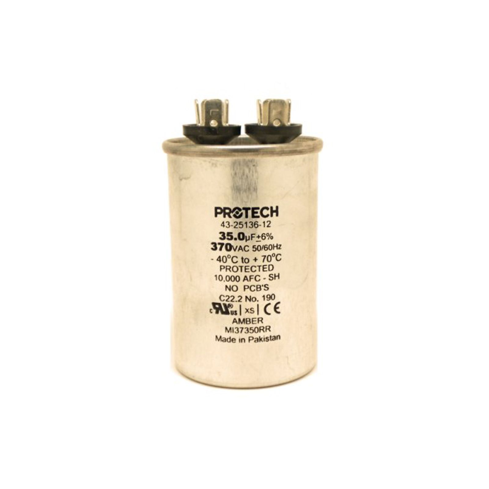 PROTECH 43-25136-12 - Capacitor - 35/370 Single Round