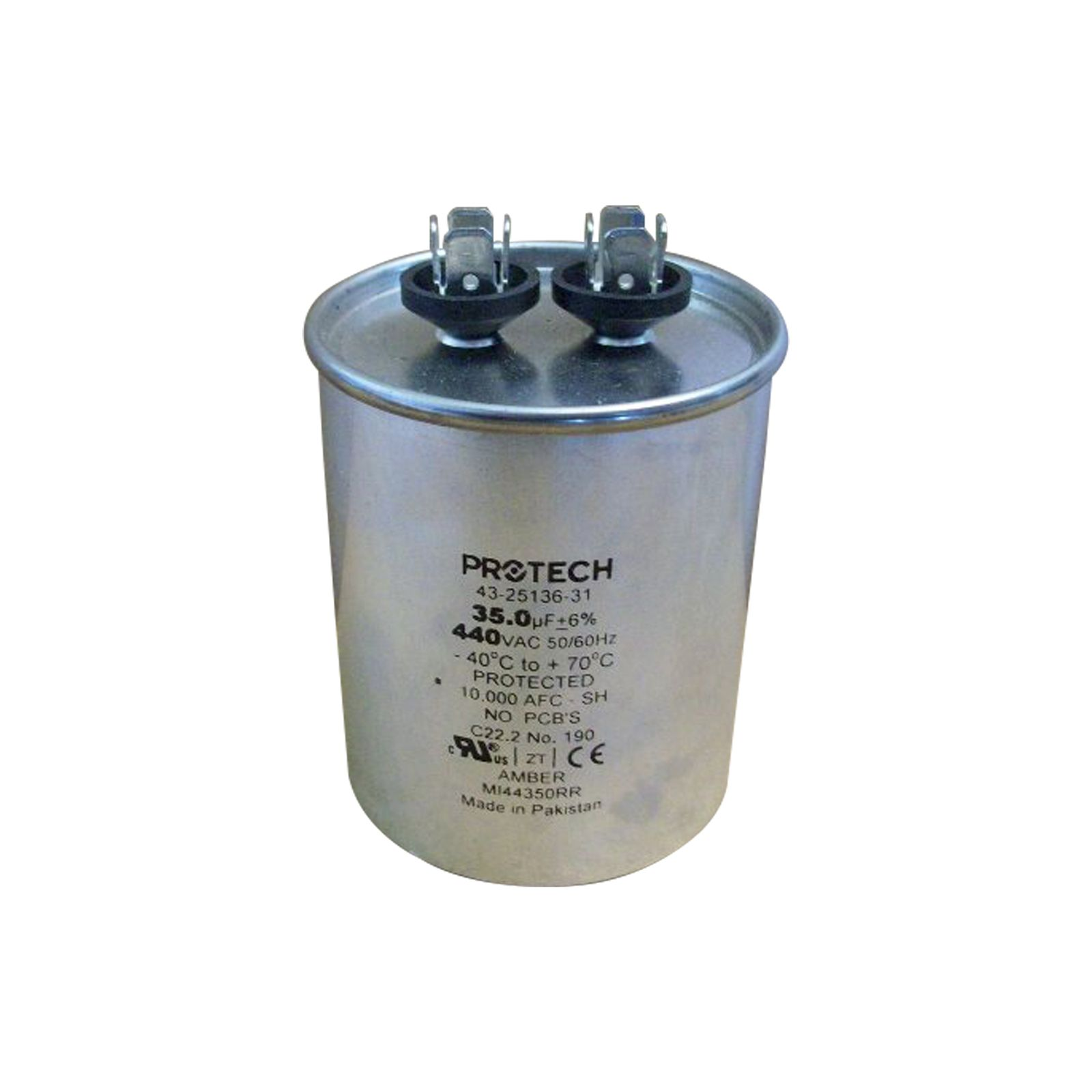 PROTECH 43-25136-31 - Capacitor - 35/440 Single Round