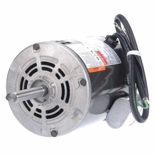 DAYTON 1/3 HP Direct Drive Blower Motor, Permanent Split Capacitor, 1140 Nameplate RPM, 115 Voltage