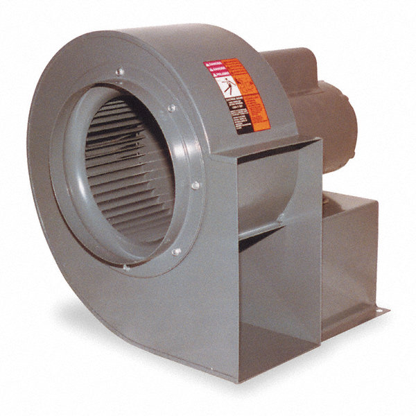 Direct Drive DAYTON Blower,208-230/460 V,3 Ph