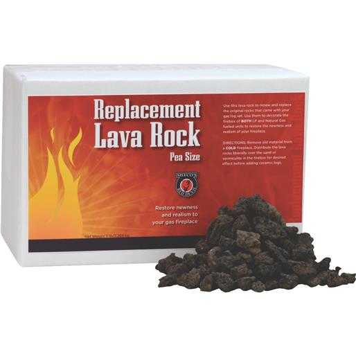 Meeco Mfg. Co. Inc. 5Lb Fireplace Lava Rock 595 Unit: EACH