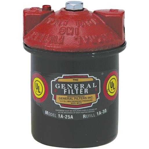 General Filters Fuel Oil Filter 2A700B Unit: EACH