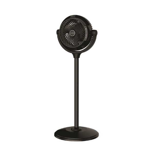 Lasko 34 Compact Power Pedestal Fan with Remote Control
