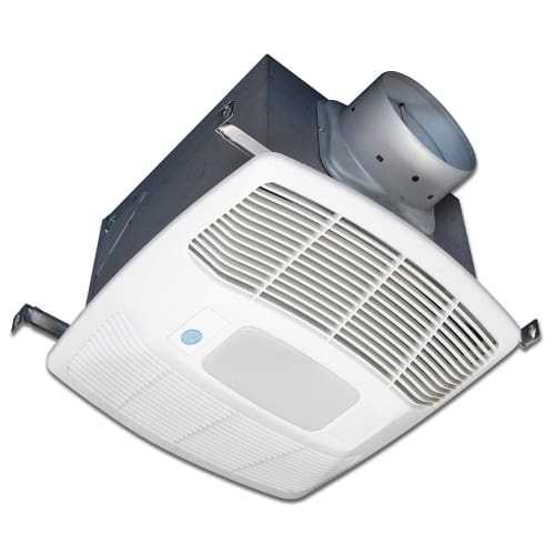 Air King EF80SG 80 CFM 0.3 Sone Ceiling Mounted Lighted Motion Sensing Bath Fan