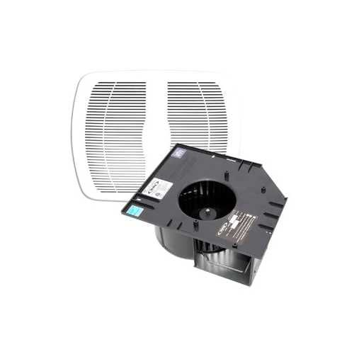 Air King AK110PNT Contractor Pack, 100 CFM Exhaust Fan with Grille and 1.5 Sones (Package 4) - White