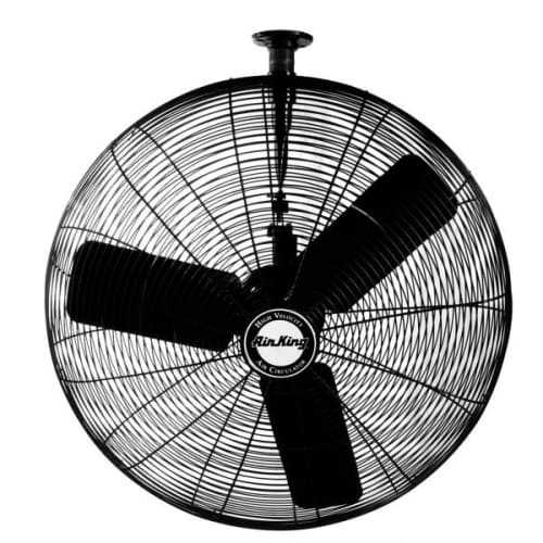 Air King 9724 24' 5130 CFM 3-Speed Industrial Grade Ceiling Mount Fan