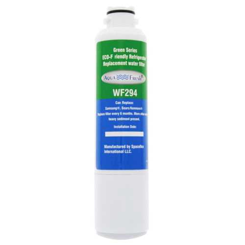 Aqua Fresh Replacement Water Filter Cartridge for Samsung WF294 Filter Model