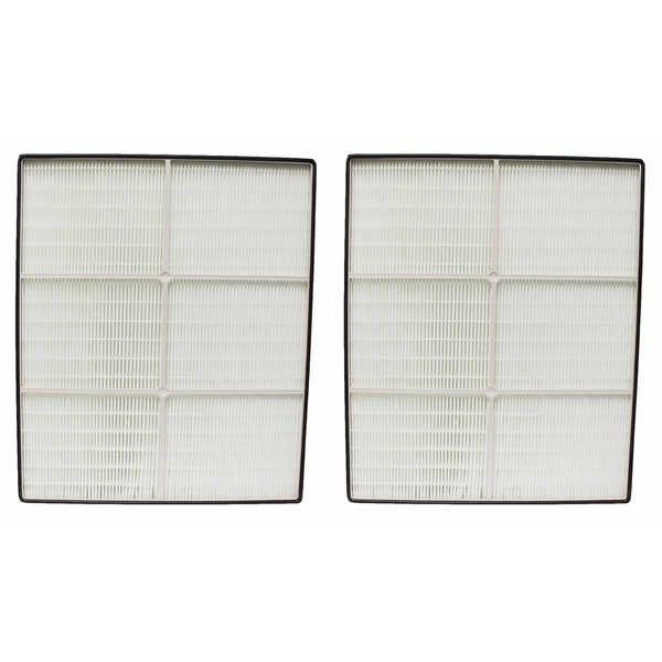 2 Crucial Air HEPA Air Purifier Filters, Fits Whirlpool AP450, AP510 Part # 1183054 - air filter