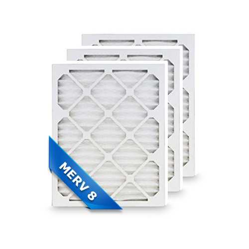 Replacement Pleated Air Filter for 20x22x1 Merv 8 (3-Pack)