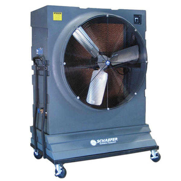 Pro-Kool PROK1422HV 42in. 1HP Portable Evaporative Cooler with Variable Speed - Black
