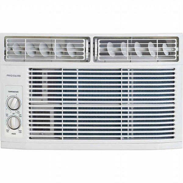 Frigidaire FFRA0611R1 6,000 BTU 2-Speed Rotary Window Mini-Compact Air Conditioner - White