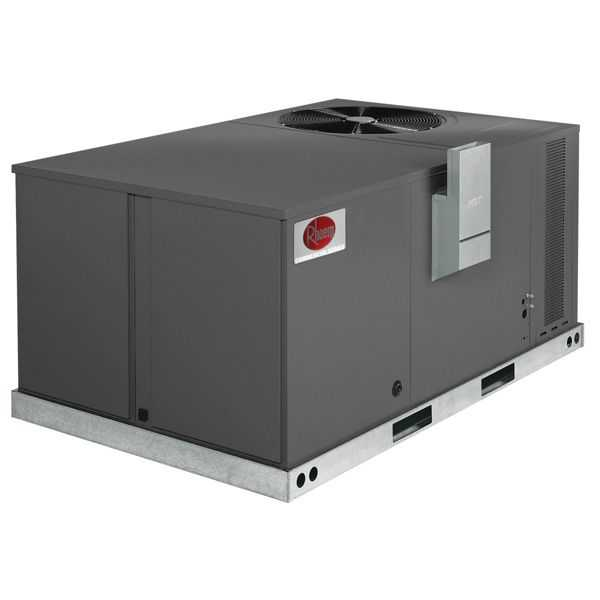 Rheem RKPN-A036CK08E - 3 Ton 14 SEER, 80 KMBH, 208-230V, 3 Phase, Gas Electric Unit, Direct Drive, R410A