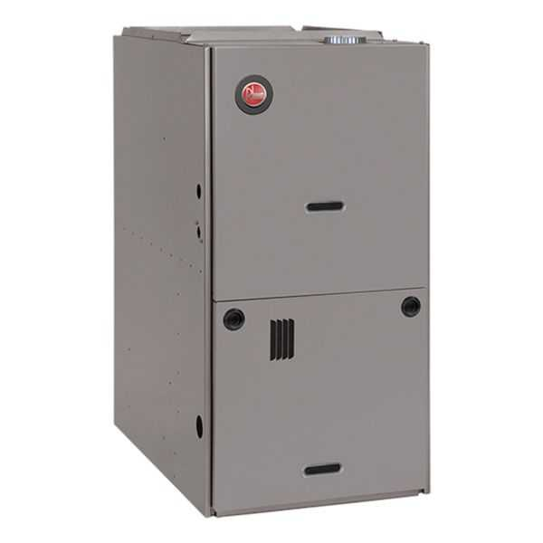 Rheem - R801PA075317ZXB - Classic 80% Gas Furnace, 1 Stage, 75K BTU, Downflow, PSC Motor, Low NOx, Up to 3 Ton