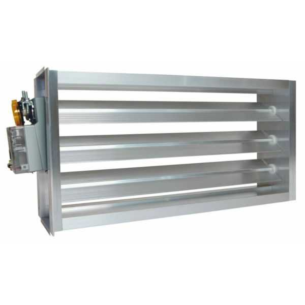 EWC 20X8 ND - Motorized Ultra-Zone Damper, 20' X 8'