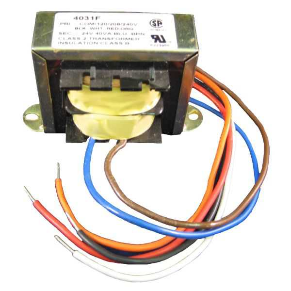 EWC Controls T-40VA - Plate Mounted, 24 Volt 40 VA Transformer For ULTRA-ZONE Dampers And Control Systems.