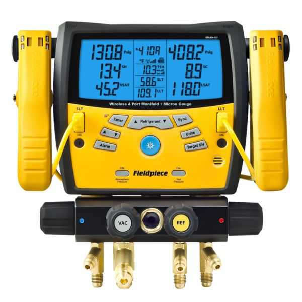 Fieldpiece SMAN460 - Wireless Digital Manifold With Micron Gauge