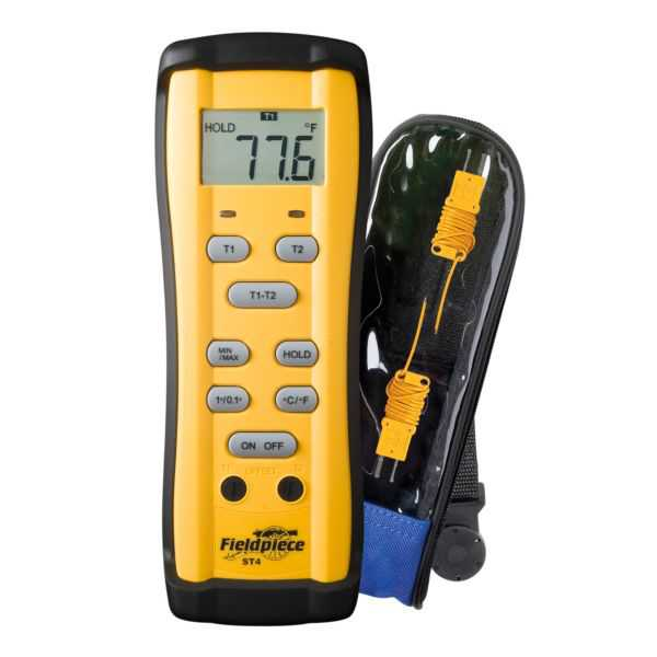 Fieldpiece ST4 - Dual-Temperature Digital Thermometer