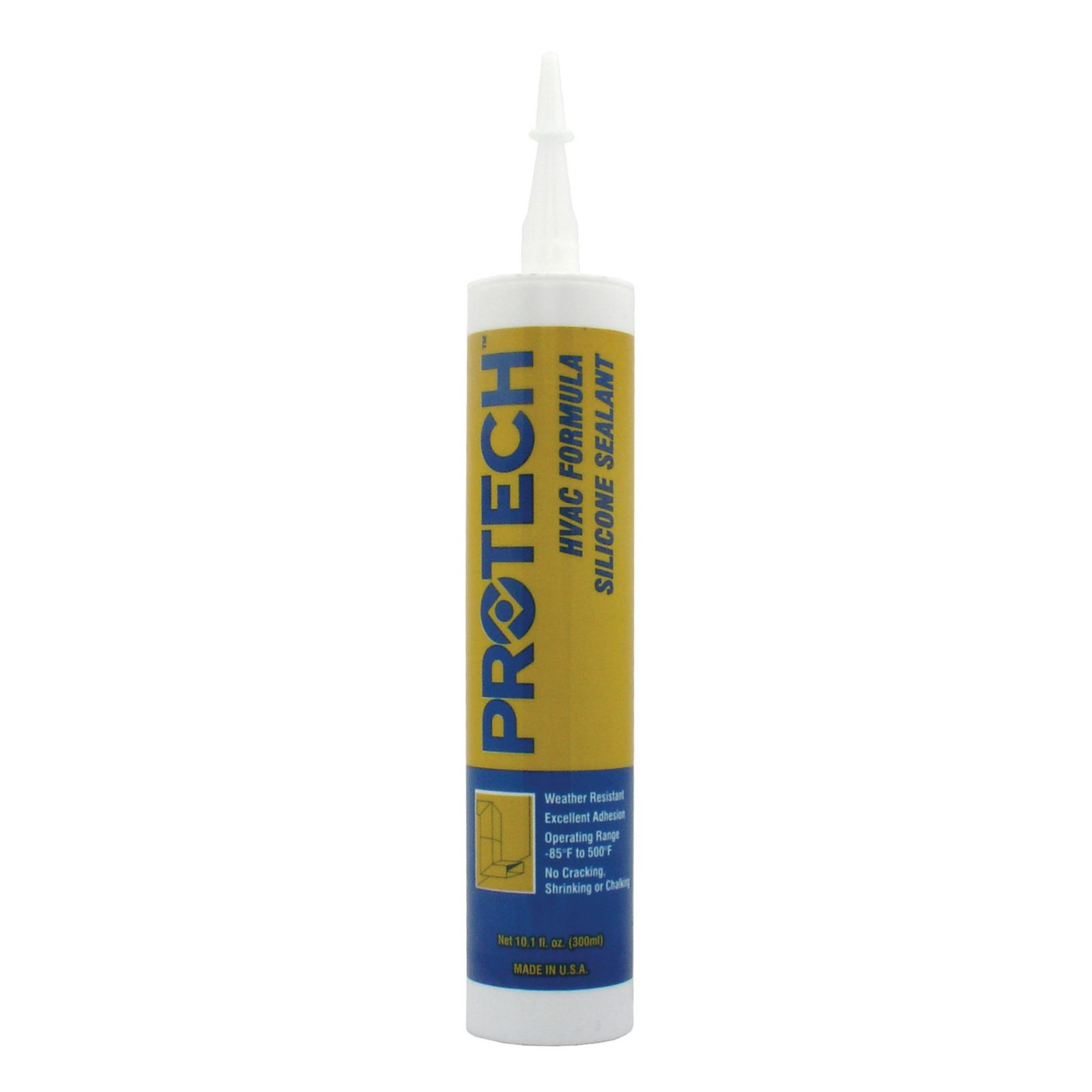 PROTECH 86-370C -  370 HVAC/R Silicone - Clear (10.1 oz. tube)