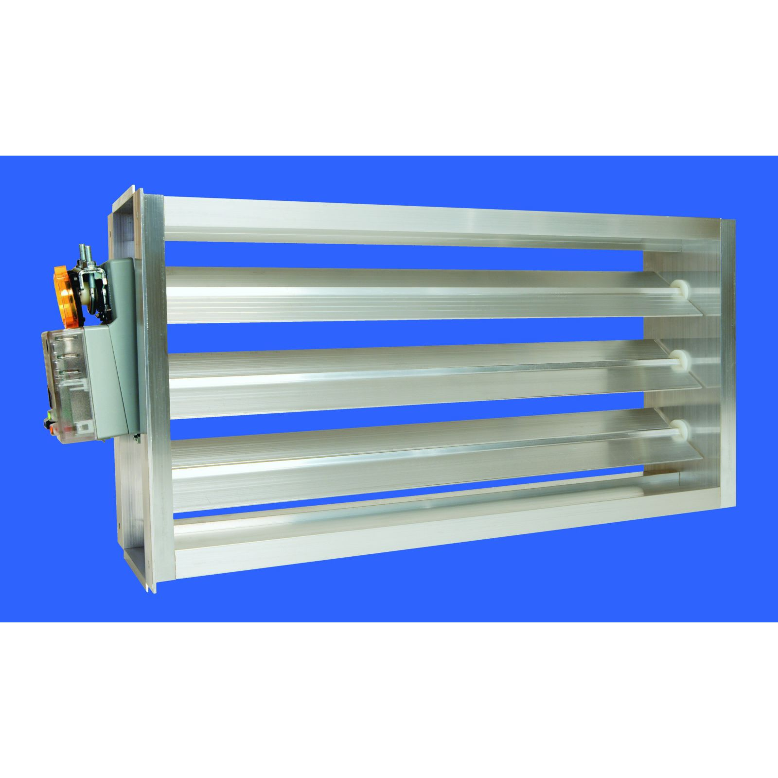 "EWC 8X20 ND - Motorized Ultra-Zone Damper, 8"" X 20"""