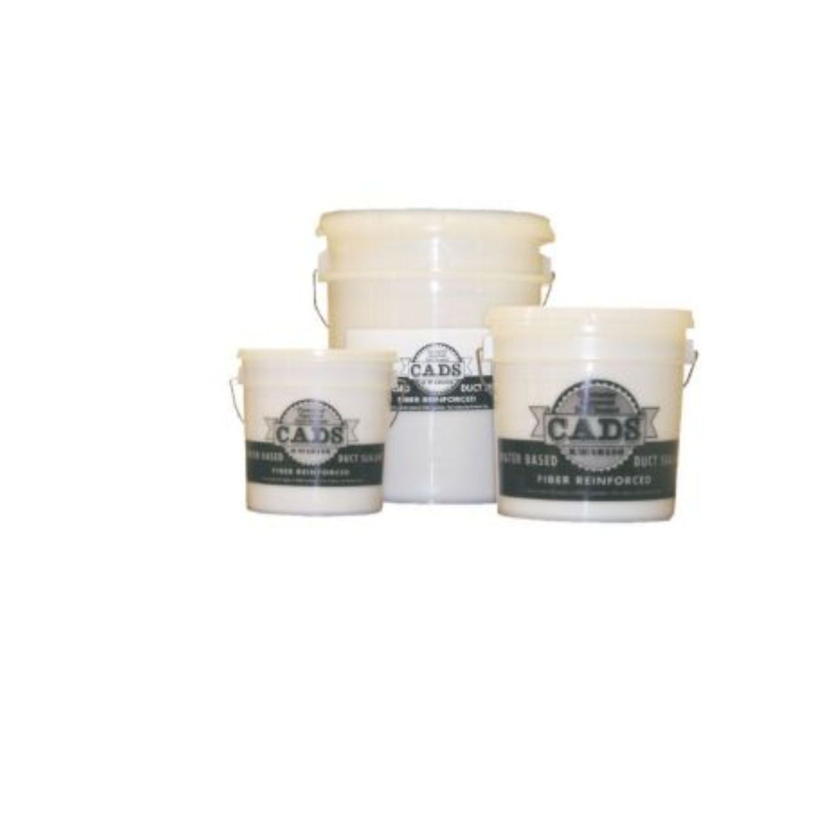 Polymer Adhesives CADS-5(W) - Airseal  - CADS-5 White, Fiber Reinforced Water Based Duct Sealant