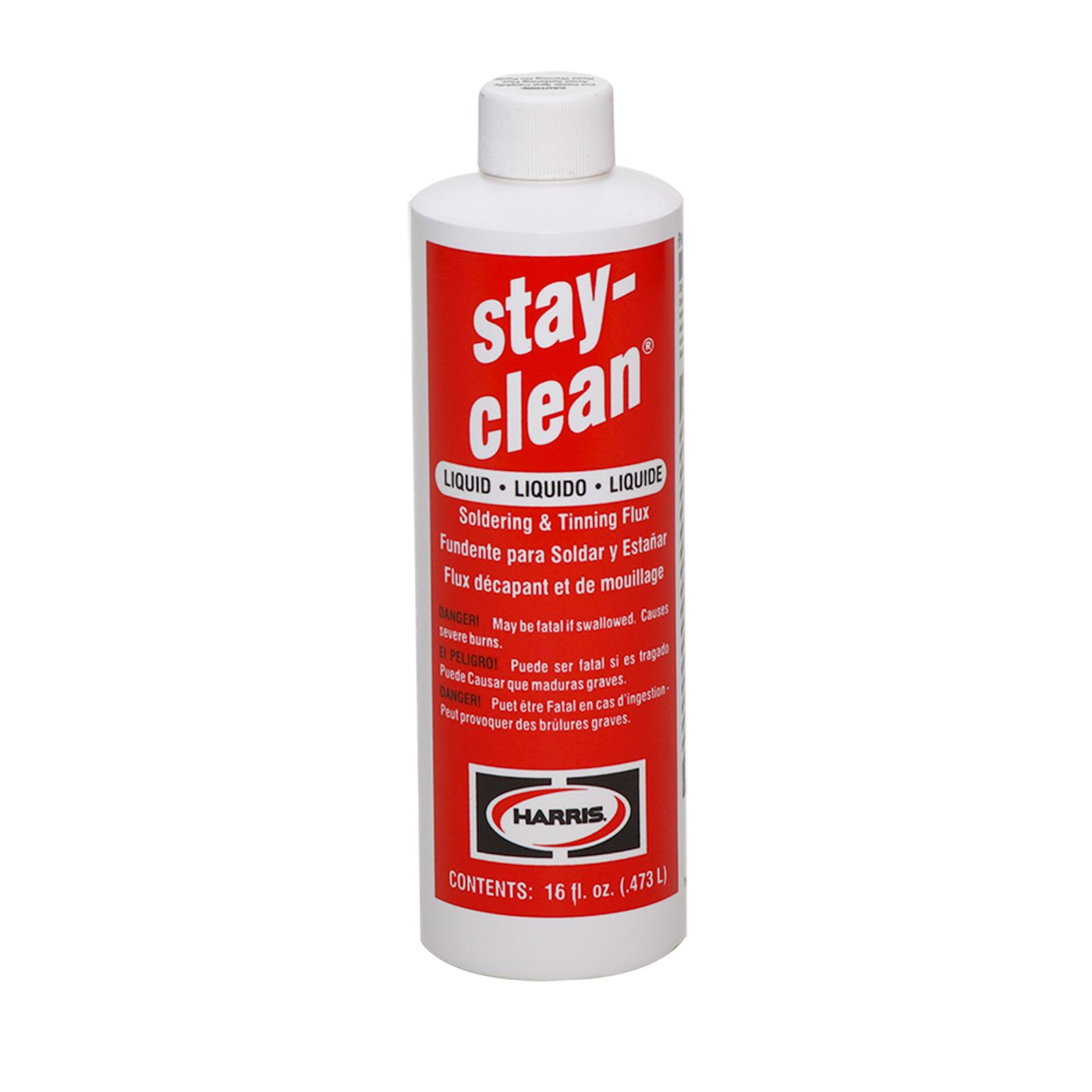 Harris SCLF16 - Stay Clean Liquid Flux - 16 Ounce