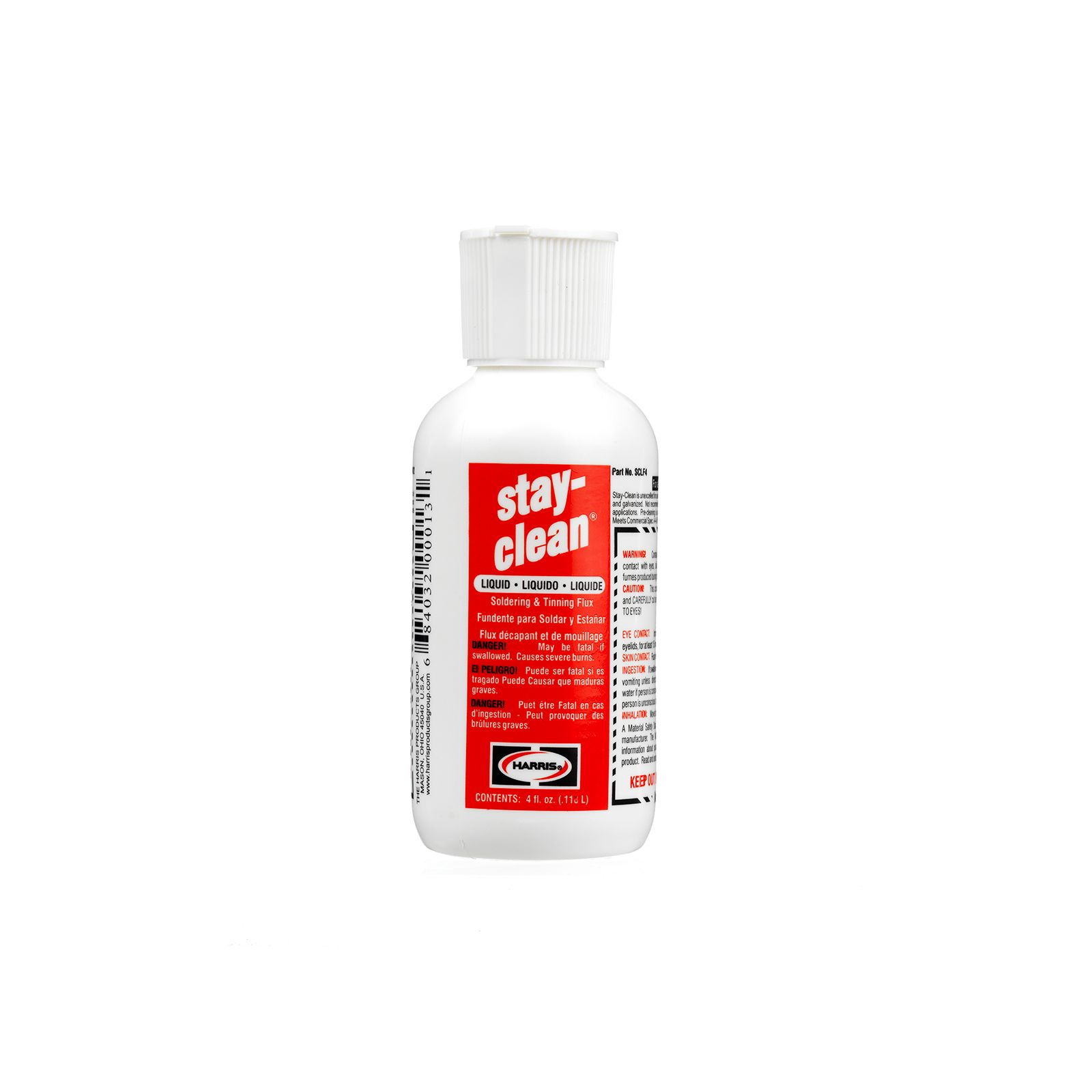 Harris SCLF4 - Stay Clean Liquid Flux - 4 Ounce