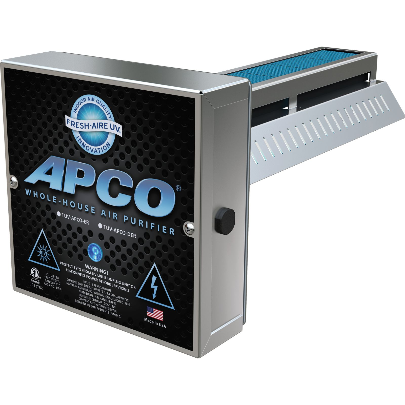 Fresh-Aire TUV-APCO-SI2 - Two Year Lamp (110-277) APCO In-Duct