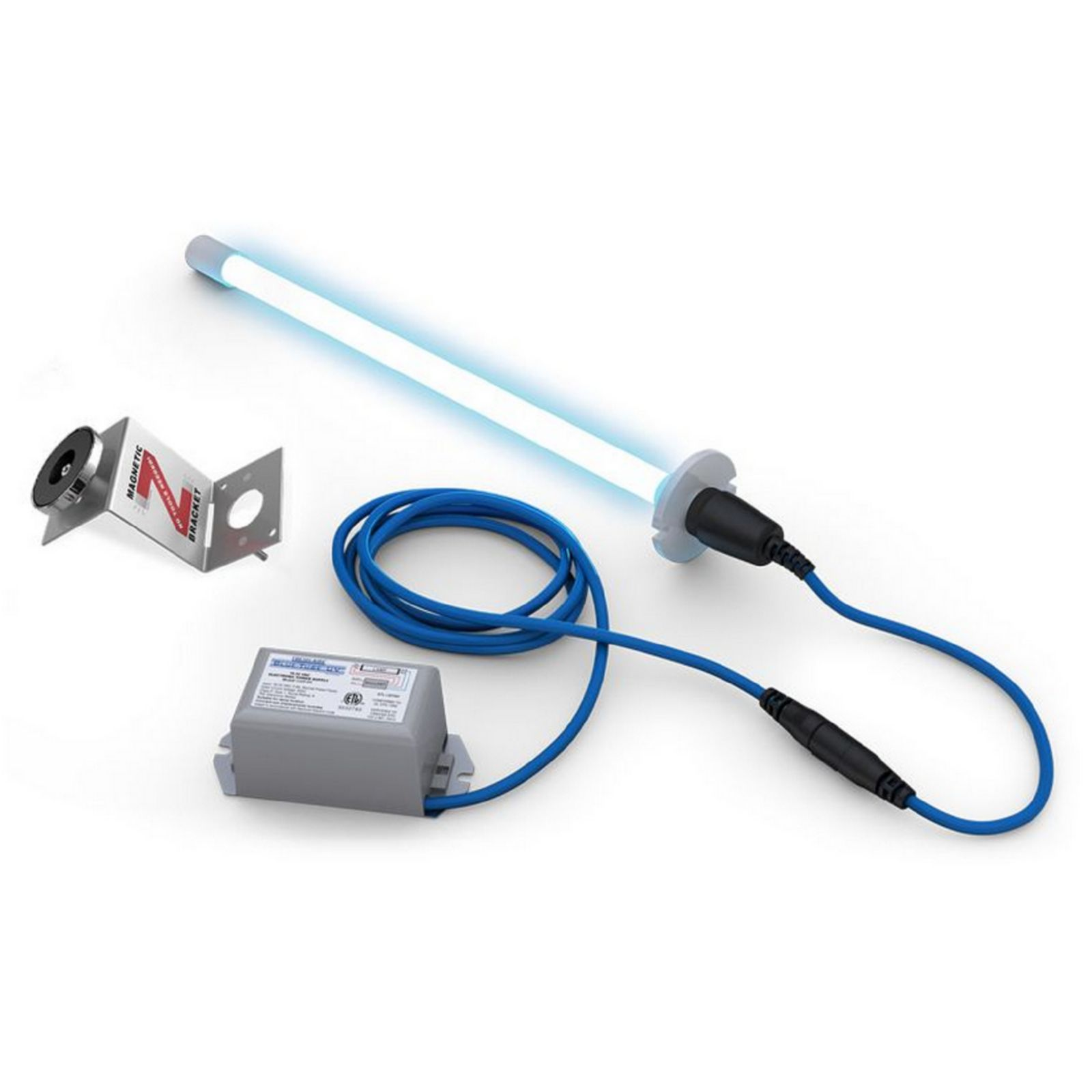 Fresh Aire TUV-BTER2-OS - Blue-Tube UV from Fresh-Aire UV, 18-32 VAC power supply and 2 year odor control UV-C lamp.