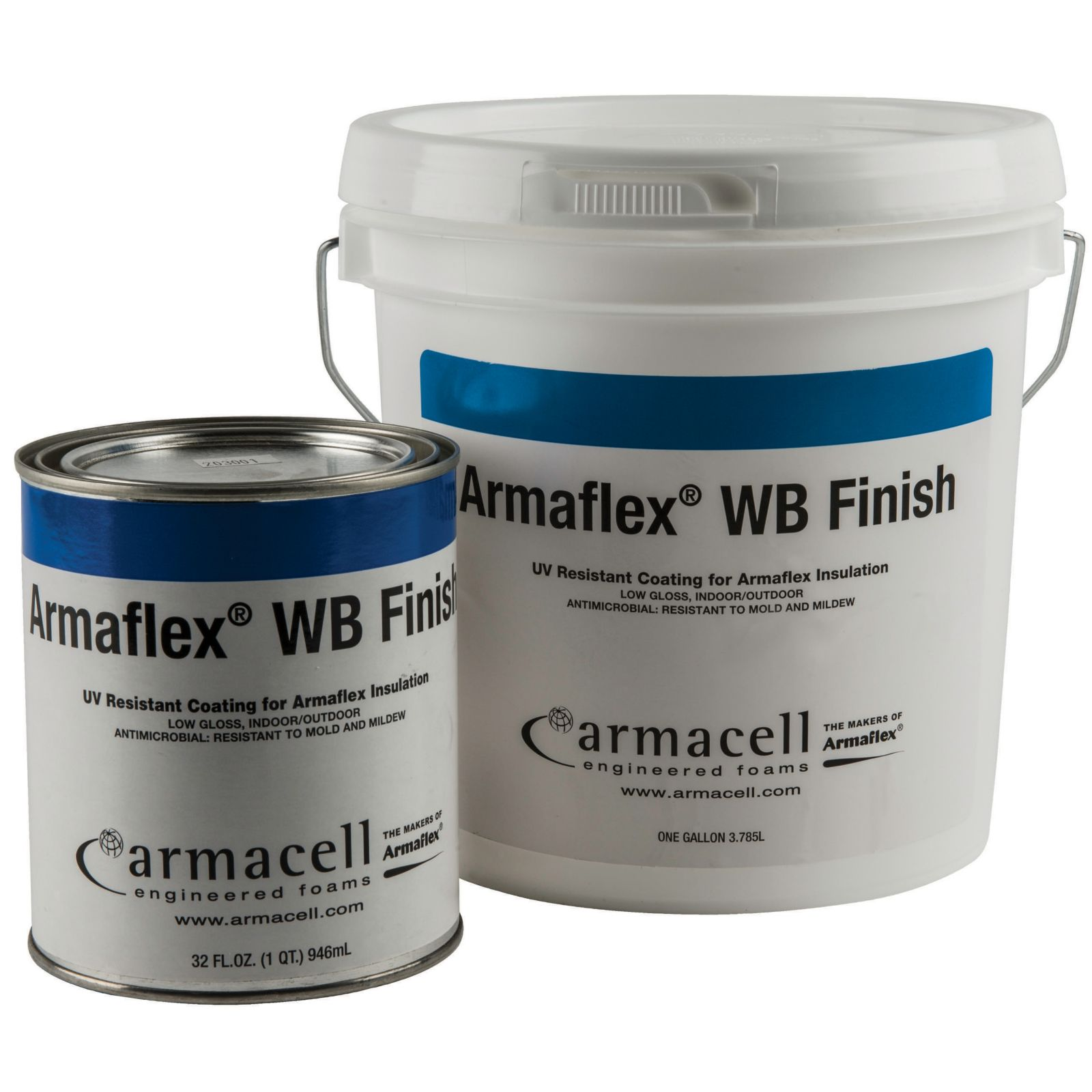 Armacell WBF8530005 - Armaflexa® Water Base Finish, UV Paint, Quart Container